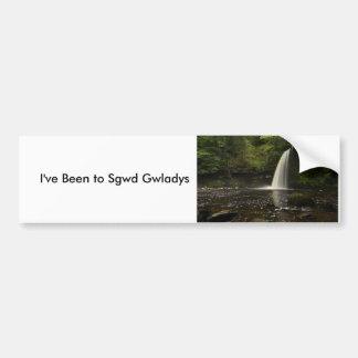 Sgwd Gwladys Waterfall 1 Car Bumper Sticker