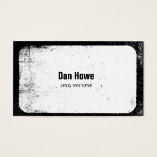 Shabby and cool business card! business card