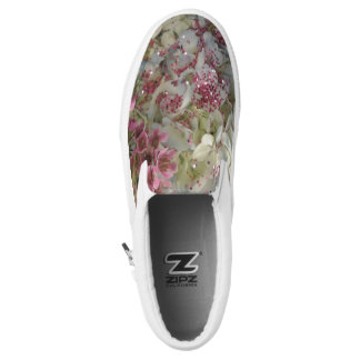 Shabby Chic Slip On Shoes