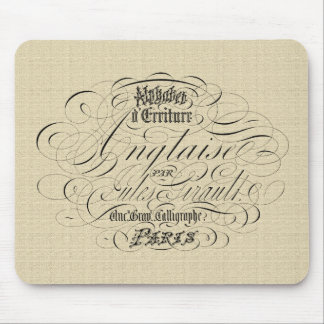 Shabby Chic Style Mouse Pad