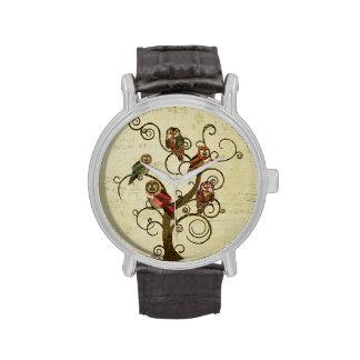 Shabby Owl Tree Watch
