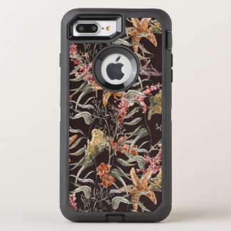 Shabby Sea Life Pattern OtterBox Defender iPhone 8 Plus/7 Plus Case