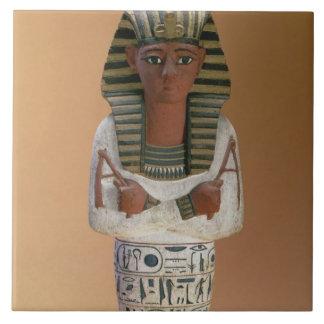 Shabti figure of Ramesses IV, New Kingdom (stuccoe Tile