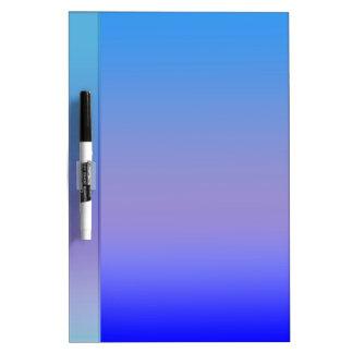 Shades of Blue Dry Erase Board