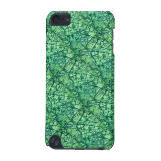 SHADES OF GREEN (an abstract art design) ~ iPod Touch 5G Covers