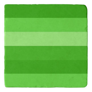 SHADES OF GREEN trivet