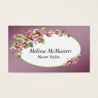 Shades of Violet Appointment Cards