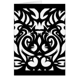 Shadow-cut art deco designer pattern by SPECT Card
