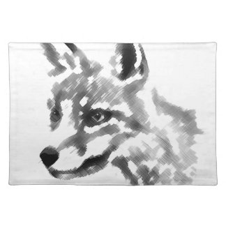 Shadow Fox Placemat