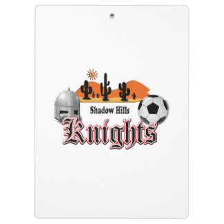 Shadow Hills Knights Clipboards