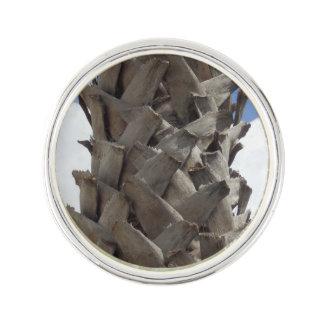 Shaggy Palm Tree Lapel Pin
