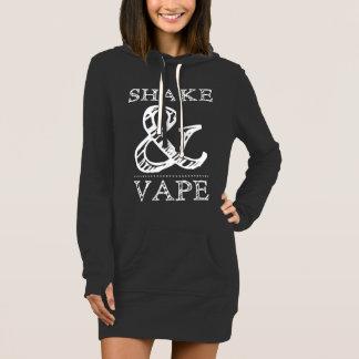 Shake And Vape Womans Hoodie Dress