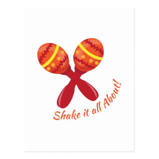 Shake It All About Post Cards