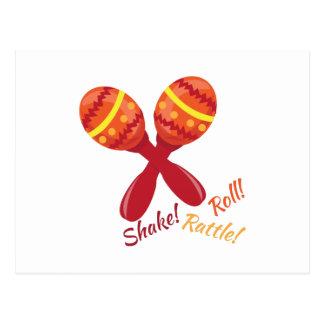 Shake Rattle Roll Postcard