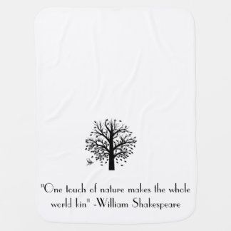 Shakespeare baby blanket