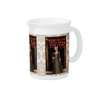 Shakespeare Fierce Quote Pitcher
