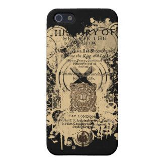 Shakespeare Henry IV Part I Quarto Front Piece iPhone 5 Cases