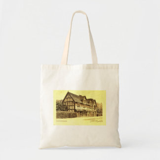 Shakespeare's House Stratford on Avon England Tote Bag