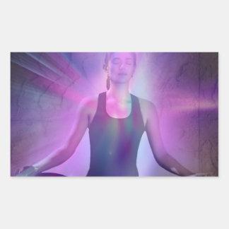 Shaman meditation yoga chakra zen chakra stickers