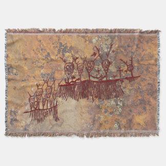 Shamans Quest Throw Blanket