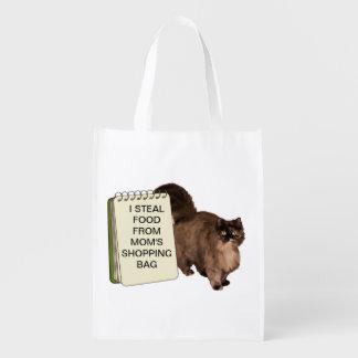 Shaming Cats Reusable Grocery Bag