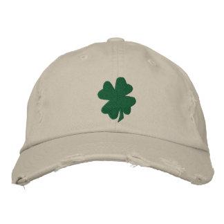 Shamrock Hat Embroidered Hat