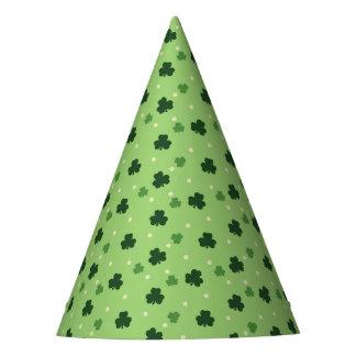 Shamrock Pattern Paper Party Hats