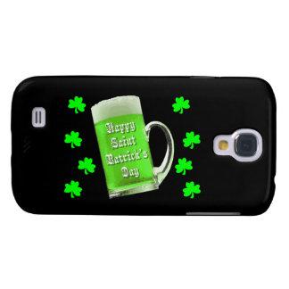 Shamrocks & Green Ale St. Patrick's Day Galaxy S4 Case