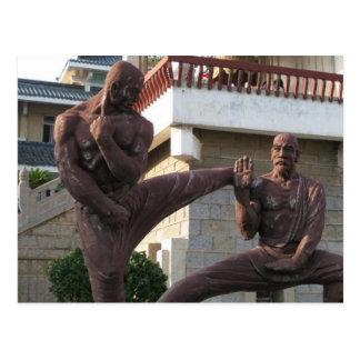 Shaolin Temple Postcard