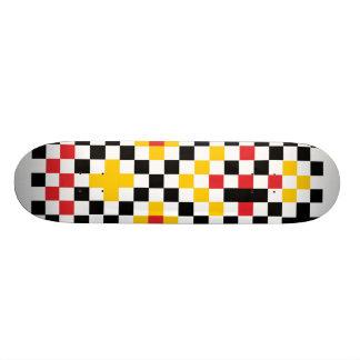 shape chess skateboard deck