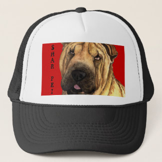 Shar-Pei Color Block Trucker Hat