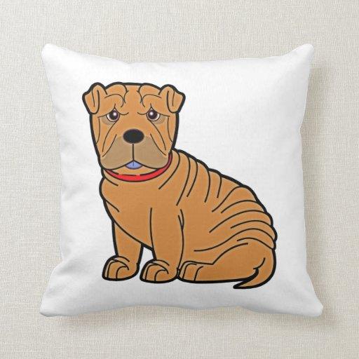 Shar-Pei Pillows