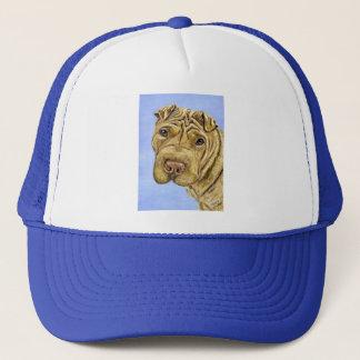 Shar Pei Dog Art - Aspen Trucker Hat