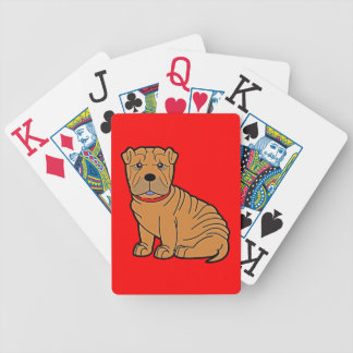 Shar-Pei Bicycle Card Deck