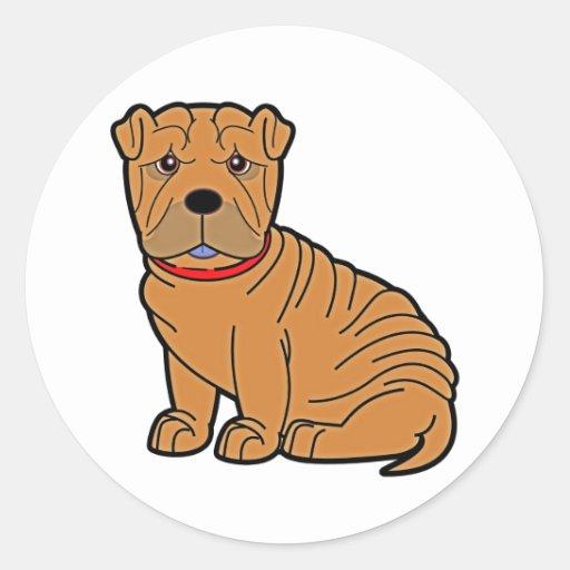 Shar-Pei Sticker