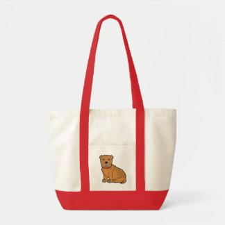 Shar-Pei Tote Bags
