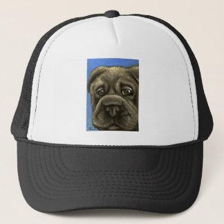 shar pei trucker hat