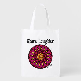 Share Laughter Reusable Grocery Bag