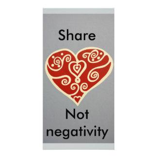 share Love 2 Custom Photo Card