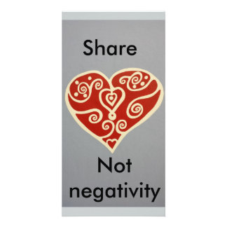 share Love 2 Customised Photo Card
