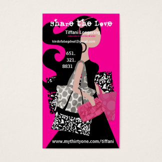 Share the love referral card