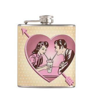 Share Your Valentine Flasks