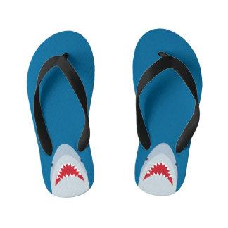 Shark Attack Kids Flip Flops Thongs