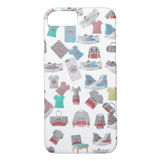 Shark Collage iPhone 8/7 Case