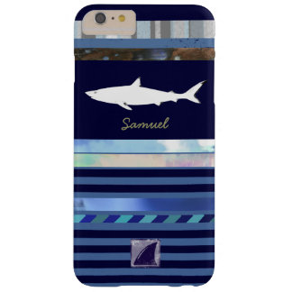 shark fish king of the ocean blue-color barely there iPhone 6 plus case