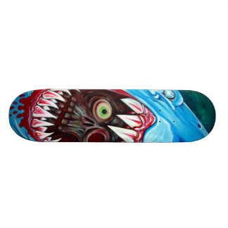 Shark VS Zombie Skateboard