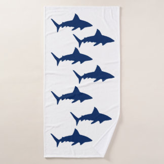 Sharks Bath Towel Set