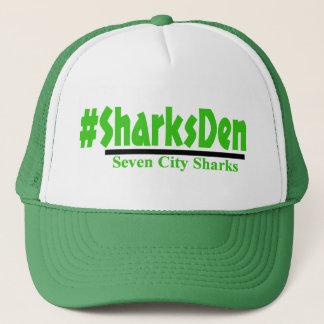 #SharksDen - Green Cap