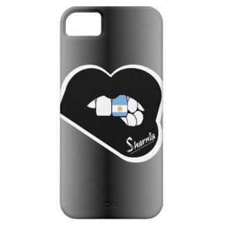 Sharnia's Lips Argentina Mobile Phone Case Blk Lip
