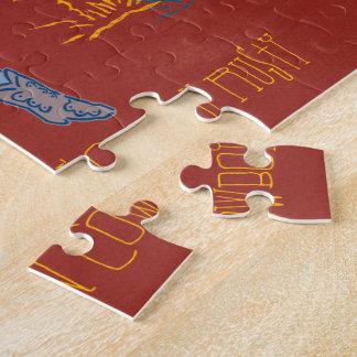 Sharp Shootin' Cowboy Rusty 10x14 horizontal Jigsaw Puzzle